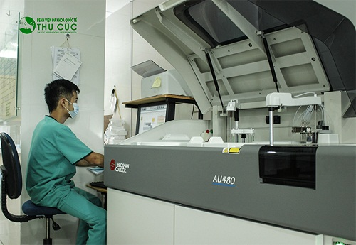 Manufactured in Germany, AU 480 biochemical machine is one of the most modern machines at present.