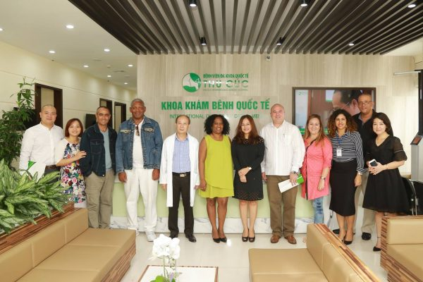 On the 4th September, the very first Cuban medical experts arrived in Vietnam and started their work at the Hospital